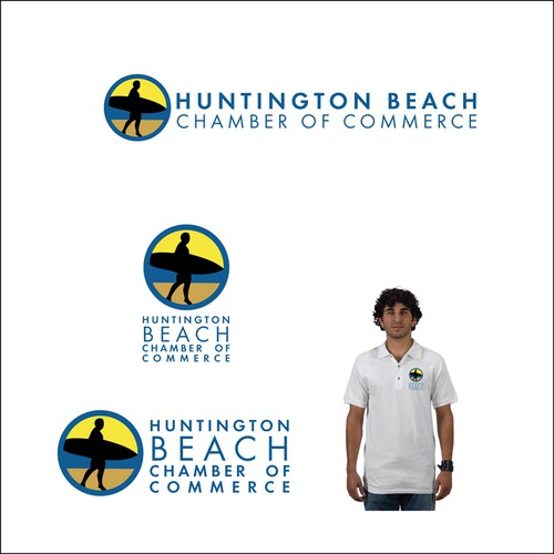 HUNTINGTON BEACH CHAMBER OF COMMERCE LOGO DESIGN CONTEST