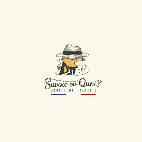 Logo for a french rreastaurant