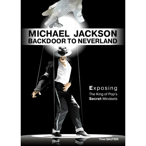 GUARANTEED !  PUT ART INTO A BOOK COVER ABOUT MICHAEL JACKSON