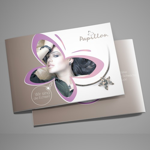 Jewelry fashion brochure rework/ redesign