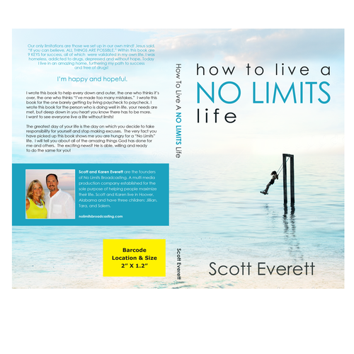Simple Book Cover for Life-Coach book