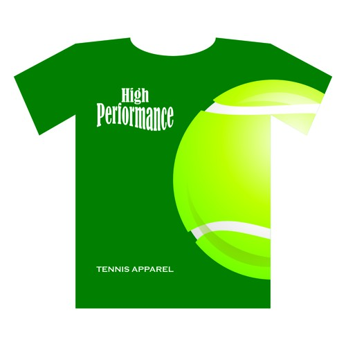 T-Shirt Design For Women & Junior Tennis & Fitness Apparel Company
