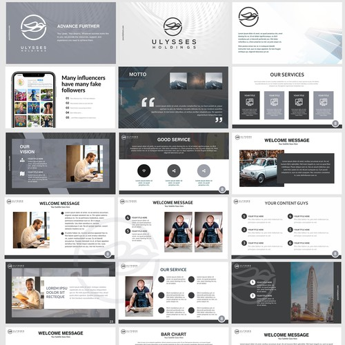 Ulysses Powerpoint Template