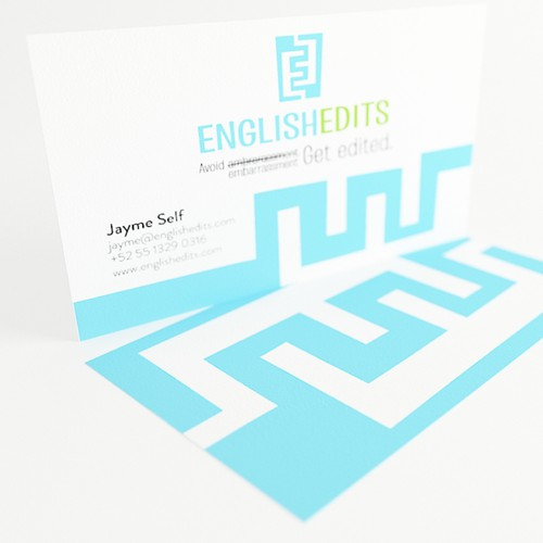 Create the next logo & business card for English Edits