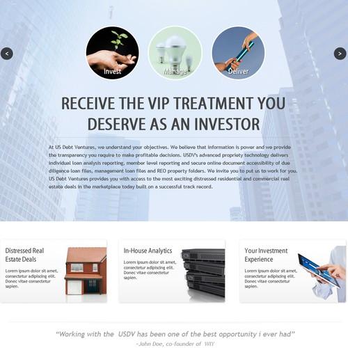 USDV Website Design