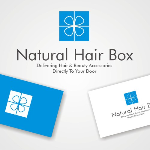 logo for Natural Hair Box