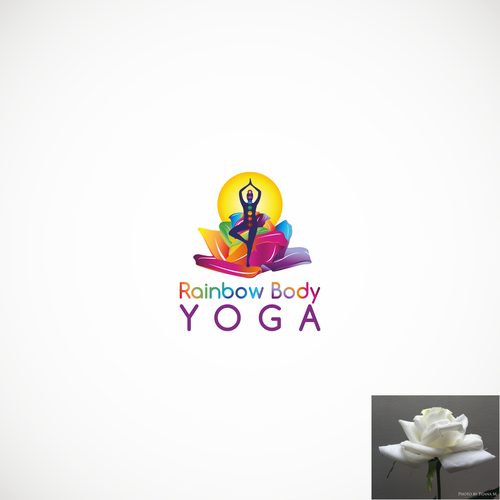 Logo for yoga studio