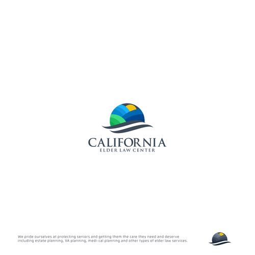 Logo concept for CALIFORNIA ELDER LAW CENTER