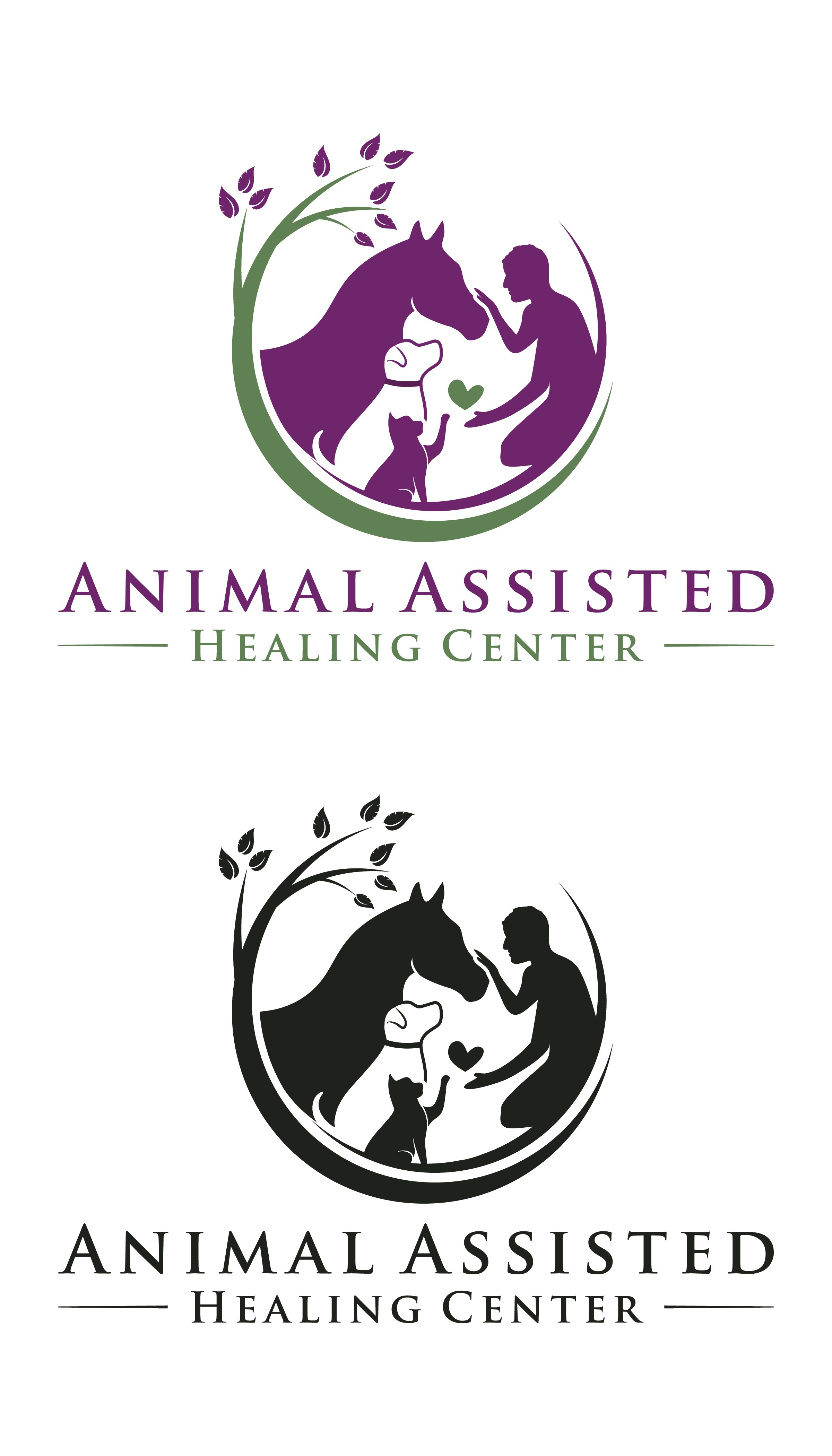 Help an Animal-Assisted Therapy non-profit create a logo that will inspire healing