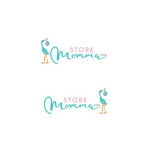 Logo for StorkMomma.com