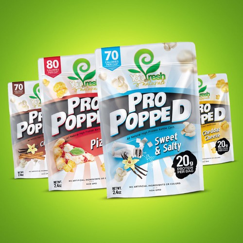 Pro Popped Protein Kettle Corn