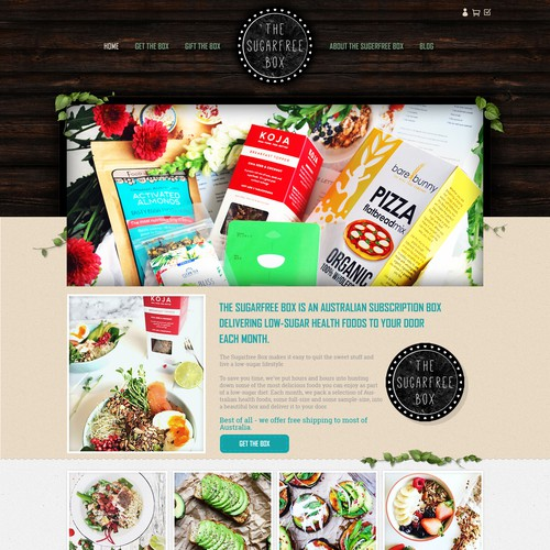 Design for Sugar free Products Company