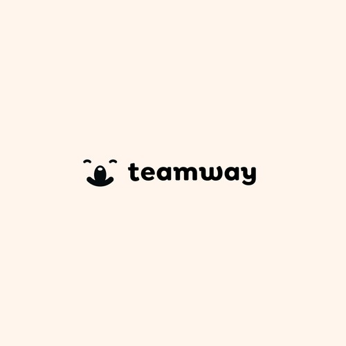 Logo for reinventing freelancing - Teamway.io