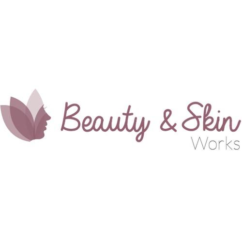 Feminine logo for a beauty salon