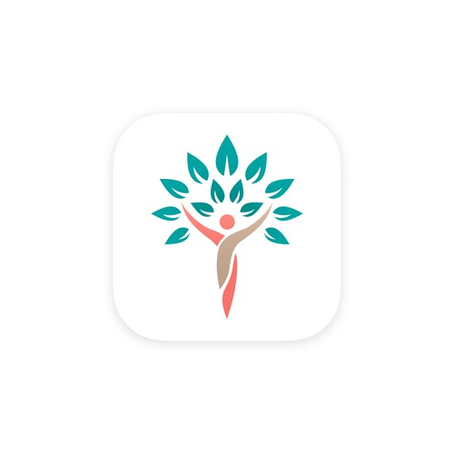 App icon design for women's health app