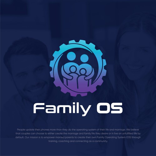 Family OS Logo Design