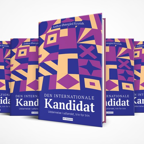 Cover design for Den Internationale Kandidat