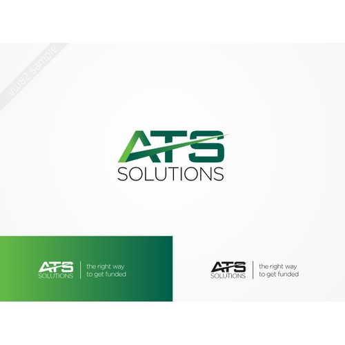 Logo concept for ATS Solutions