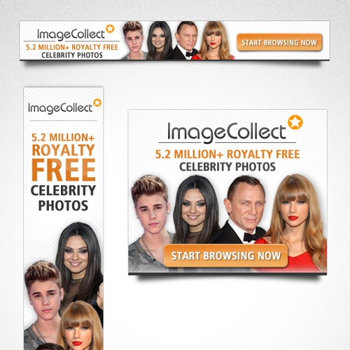 Banner ad for ImageCollect
