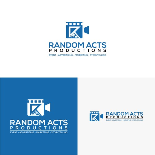 logo concept for film Production
