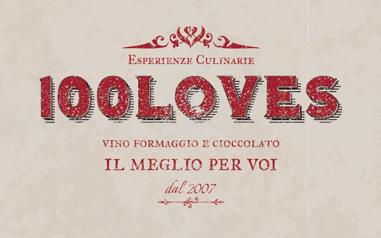 Guaranteed logo for wine & cheese tasting consultant, 100loves