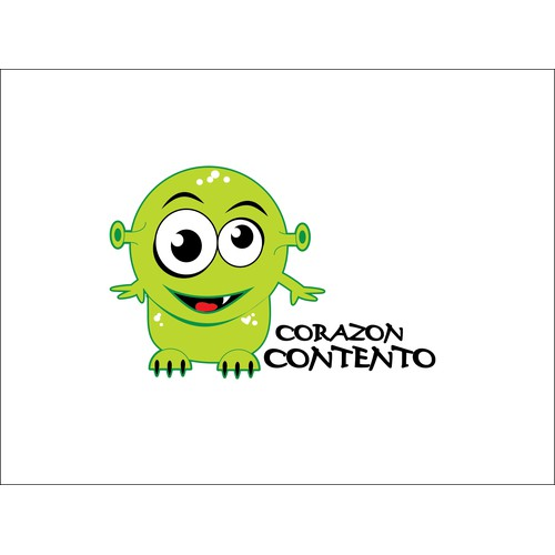 Create a cool monster for green-reusable bags brand