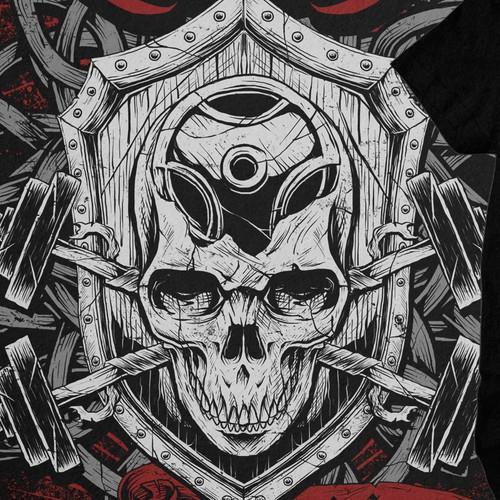 T-Shirt design for IRON SAVAGE