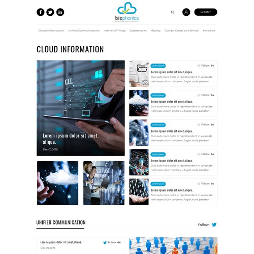 Information about the performance, adoption, and customer satisfaction with the leading cloud service providers. Our target audience is CIOs