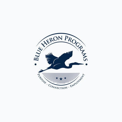 Blue Heron Programs logo