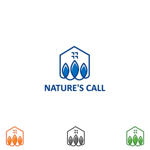 Real estate logo project with nature feel..