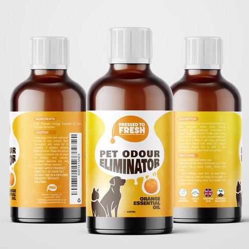Pet Odour Eliminator Label Contest Winner