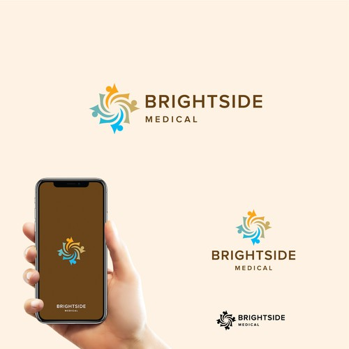 Warm logo for BrightSide Medical