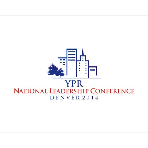 Create a Innovative conference logo incorporating the city of denver