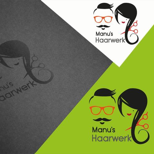 Logo design for hairdressing salon