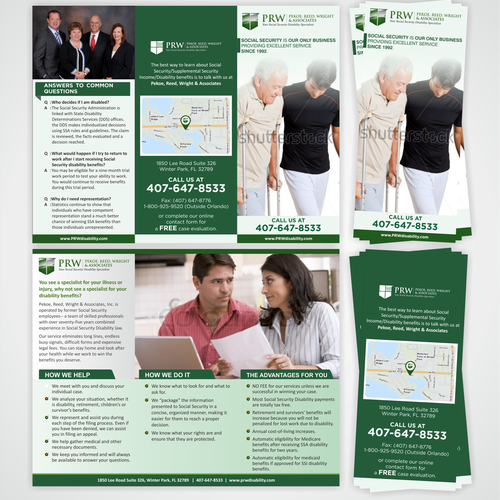 Create Custom Brochure for Top Law Firm in Florida