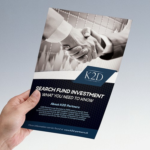 K2D Flyer Design