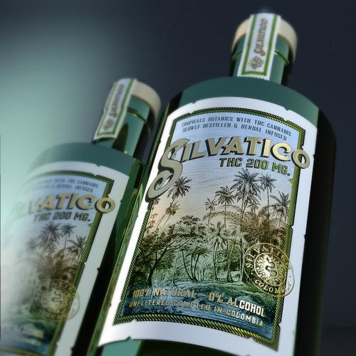 Crafted Distilled Spirit 100% Natural needs a Premium Label