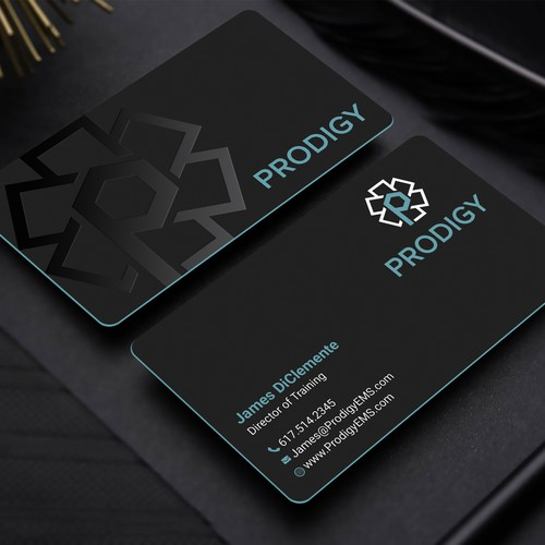 Raised Spot Gloss Business card