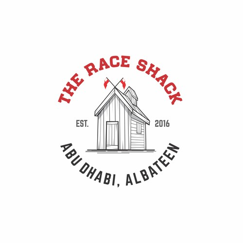 Retro Logo for The Race Shack COmpany