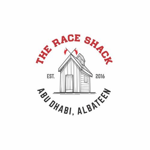 Retro Logo for The Race Shack COmpany