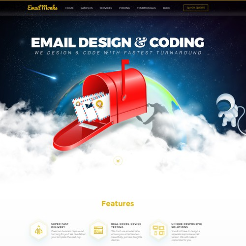 Email Design & Coding - Creative Website Design
