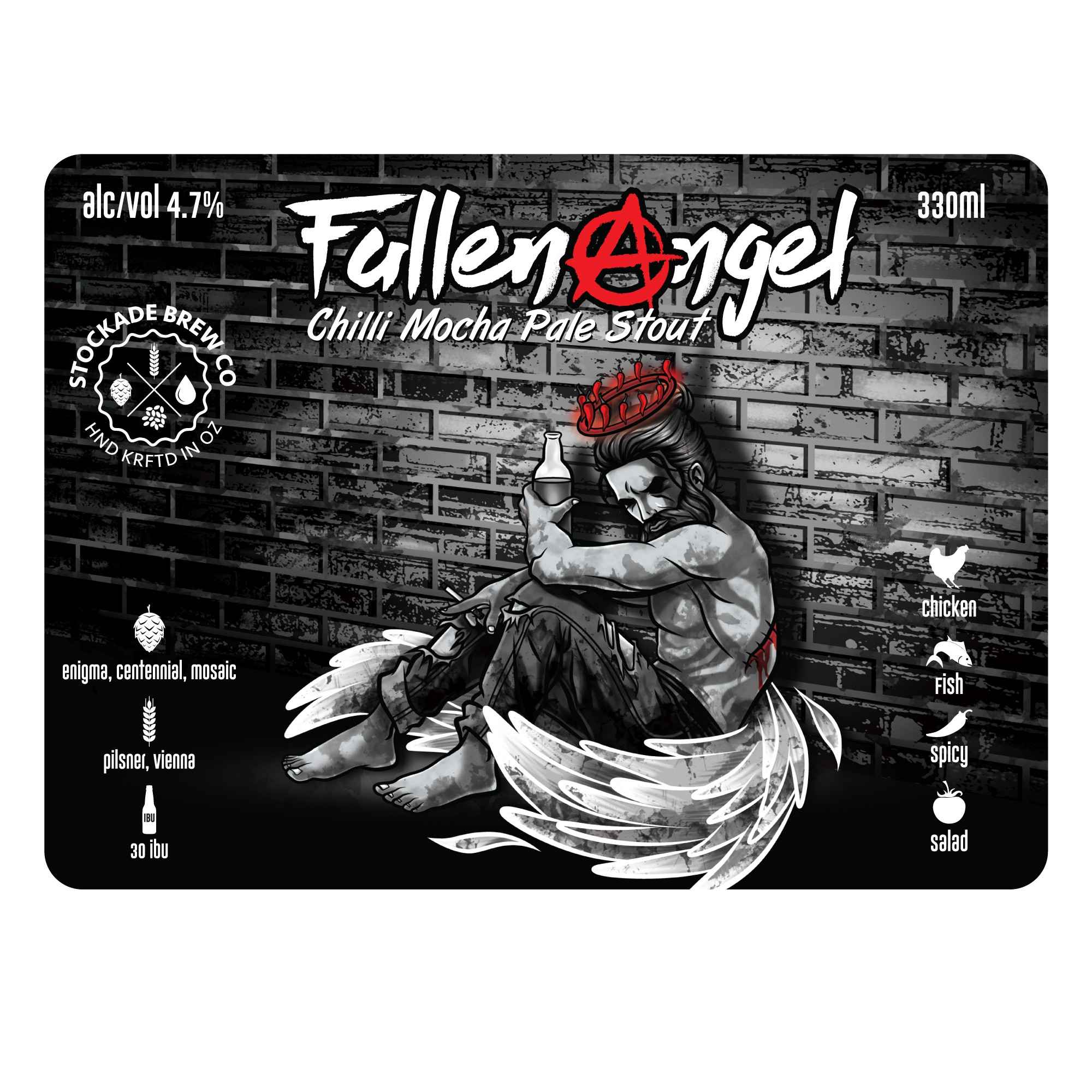 Create a beer label for our latest brew!