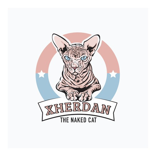 The Naked Cat Logo