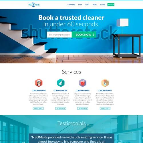 Maid Business Website