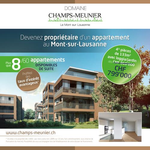 Flyer Domaine Champs Meunier