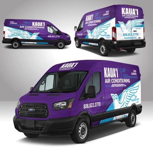 KAUAI Transit Cargo Van Wrap