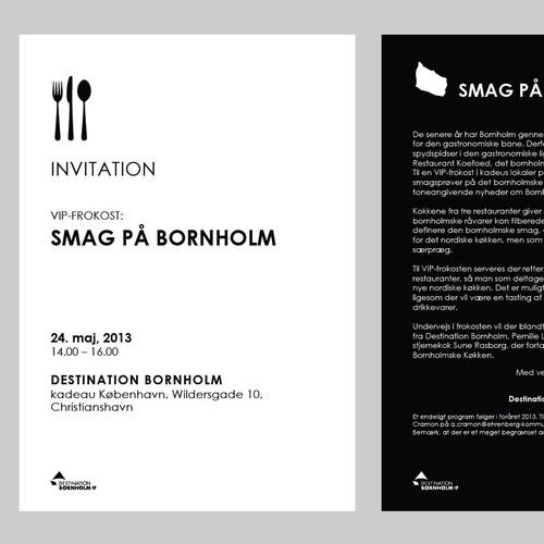 New card or invitation wanted for EHRENBERG Kommunikation