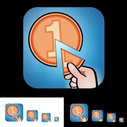 Application Icon for Igrecway Comoney (iOS Application)