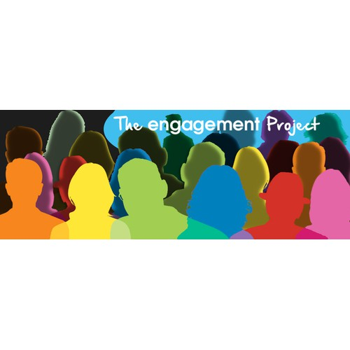 Engagement project colourful logo