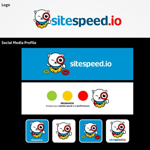 Create the next logo for sitespeed.io